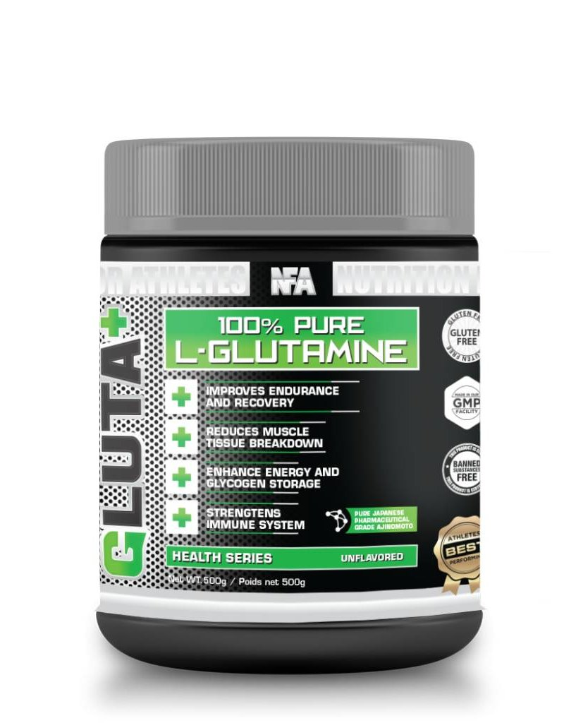NFA NUTRITION FOR ATHLETES GLUTAMINE+500G