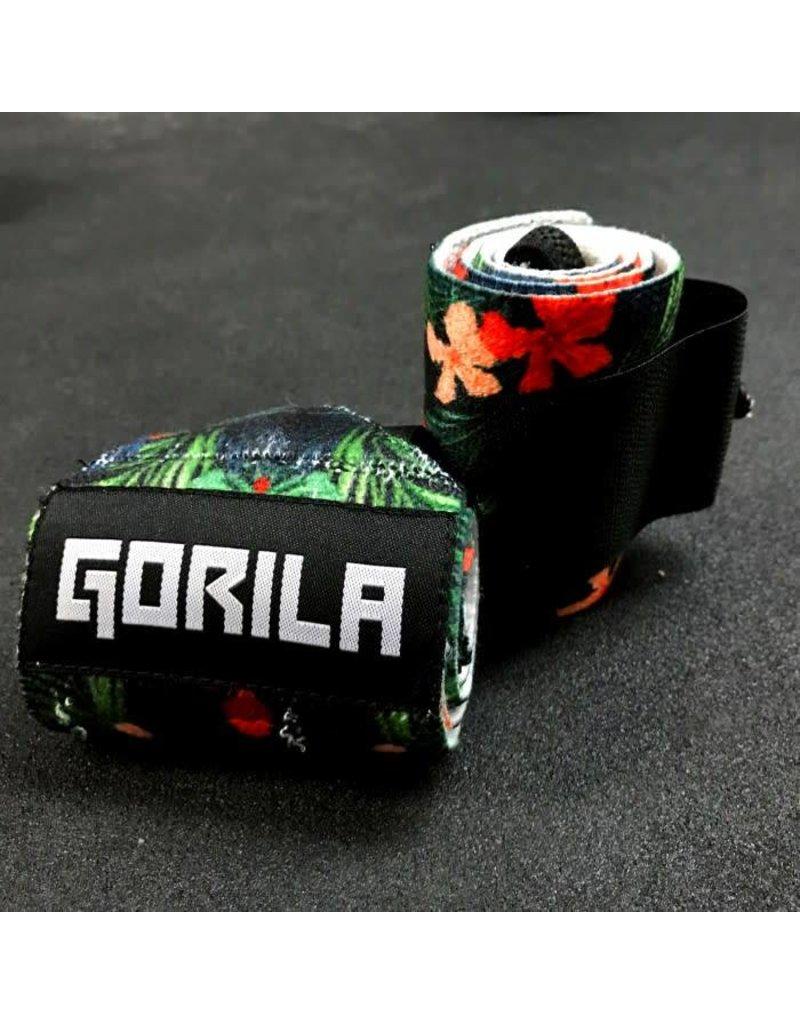 GORILA FITNESS GORILA 12'' WRIST WRAPS TROPIC (PAIR)