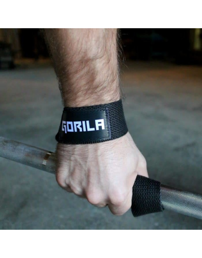 GORILA FITNESS GORILA LIFTING STRAPS COTTON