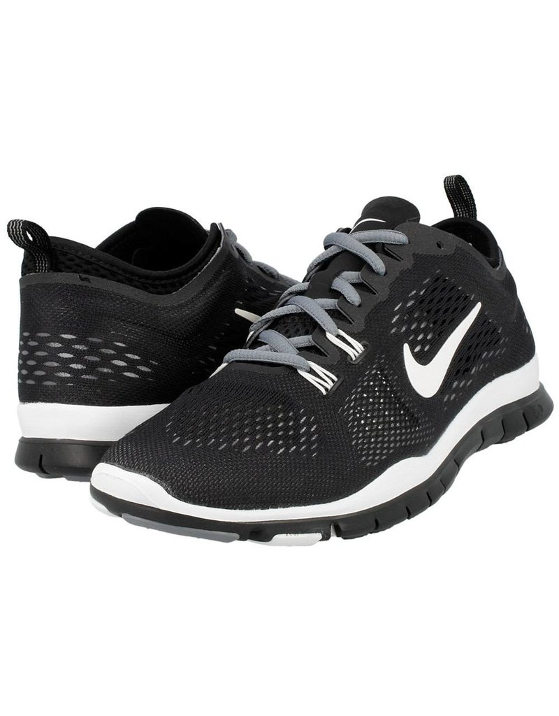 new products 5d9e8 95a62 ... NIKE NIKE FREE 5.0 TR FIT 4, BLACK WHITE GREY