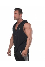 JED JED NORTH PRESTO FITTED SLEEVELESS HOODIE