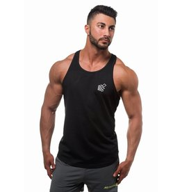 JED NORTH JED NORTH DRI FIT TANK TOP BLACK