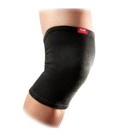 MC DAVID LEVEL 1 KNEE SLEEVES ELASTIC - BLACK