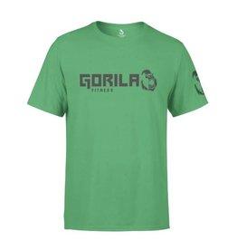 GORILA FITNESS GORILA FITNESS ORIGINAL T-SHIRT MEN, GREEN