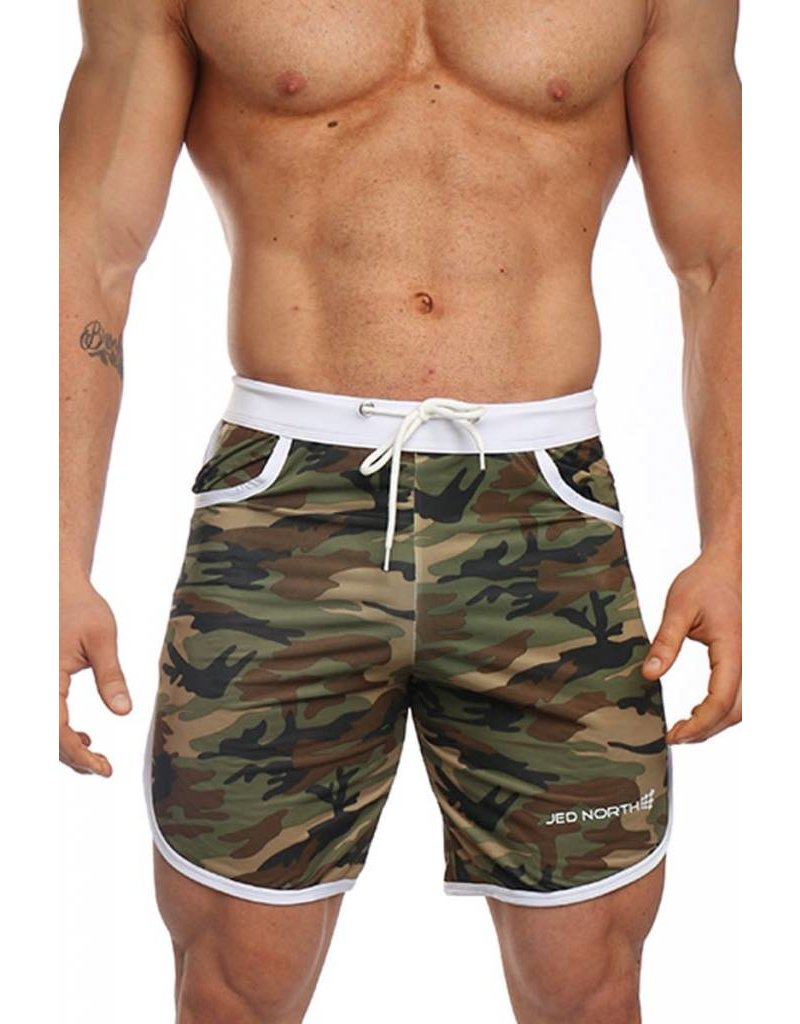 JED NORTH JED NORTH ACE SPORTS SHORTS CAMO