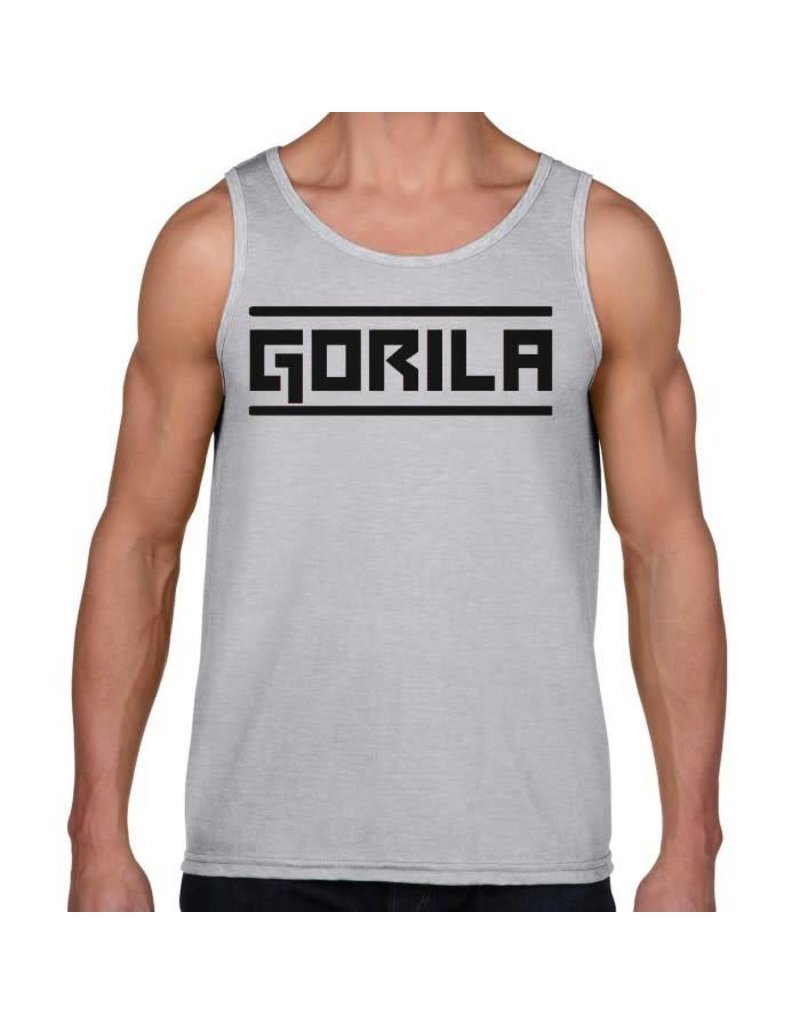 GORILA FITNESS GORILA MEN'S TANK TOP GREY