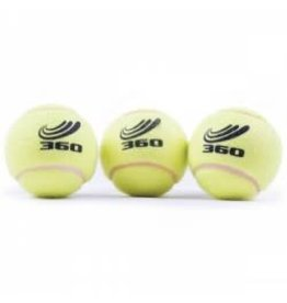 360 ATHLETICS 360 TENNIS BALLS POLY BAG OF 3