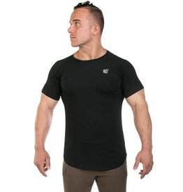 JED NORTH JED NORTH ATLAS SCOOP TEE BLACK