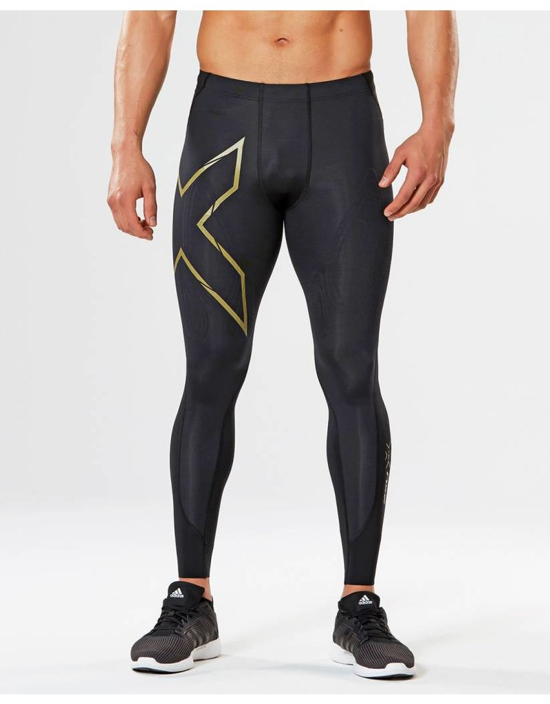 2XU 2XU MCS CROSS TRAINING COMP TIGHTS - BLACK/GOLD
