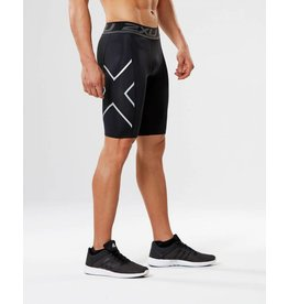 2XU 2XU ACCELERATE COMP. SHORT - BLACK/SILVER, BLK/SIL