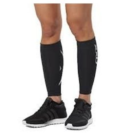 2XU 2XU COMPRESSION CALF GUARDS - BLACK