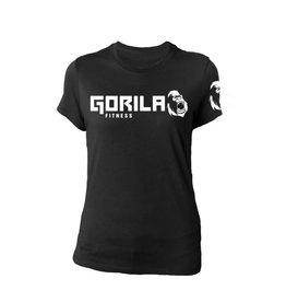 GORILA FITNESS GORILA FITNESS ORIGINAL WOMEN SHIRT,  BK
