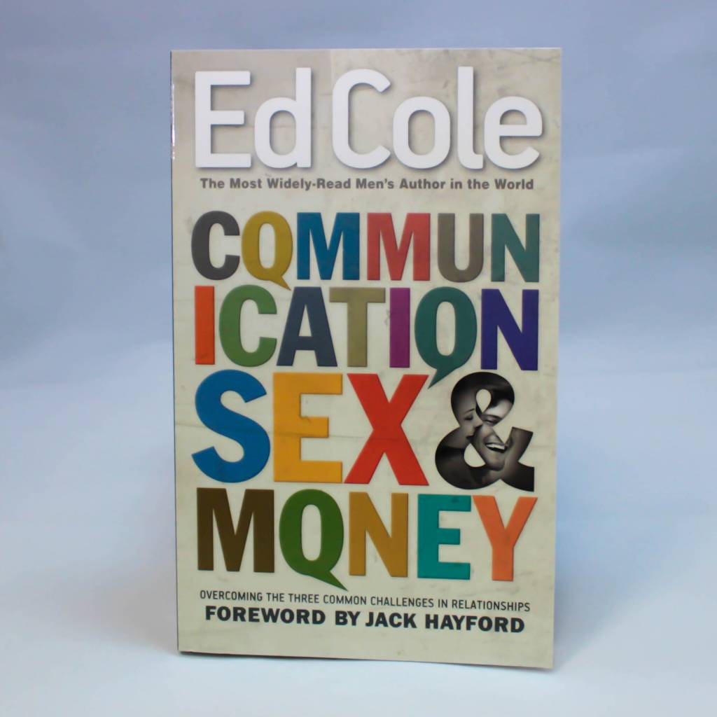 Kingdom Men/Women Communication Sex And Money Book by Ed Cole