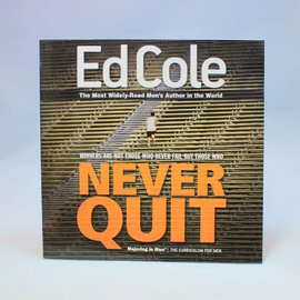 Majoring In Men Never Quit Workbook By Ed Cole