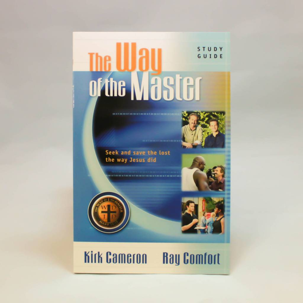 The Way Of The Master Blue By Kirk Cameron and Ray Comfort-1