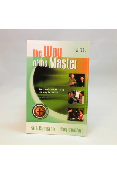The Way Of The Master Green Book By Kirk Cameron and Ray Comfort BTB2