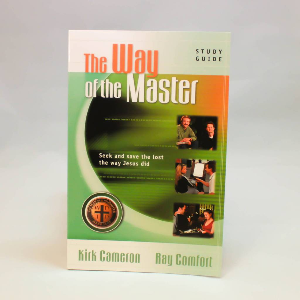The Way Of The Master Green Book By Kirk Cameron and Ray Comfort BTB2-1