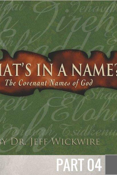 04 - Adonai By Pastor Jeff Wickwire | LT01338