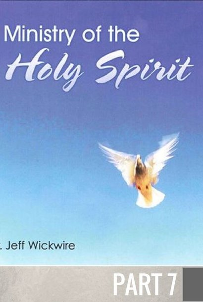 07(A018) - The Activity Of The Holy Spirit CD WED