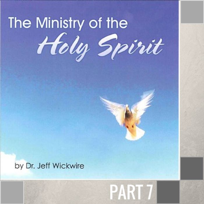 07(A018) - The Activity Of The Holy Spirit CD WED-1