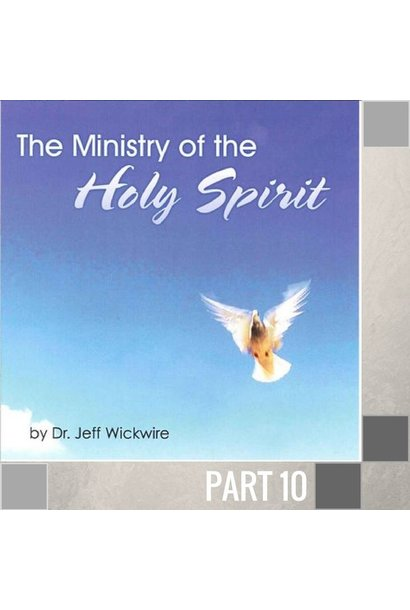 10(A021) - The Sealing Work Of The Holy Spirit CD WED