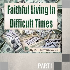 01(G041) - Life Changing Faith CD WED 7PM