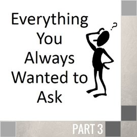 03(D028) - Everything You Always Wanted To Ask CD WED 7PM