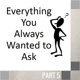 05(D030) - Everything You Always Wanted To Ask CD WED 7PM