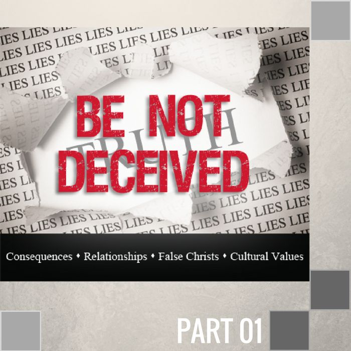 01(D034) - Be Not Deceived About Consequences CD SUN-1