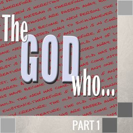 01(F026) - The God Who Comforts CD SUN