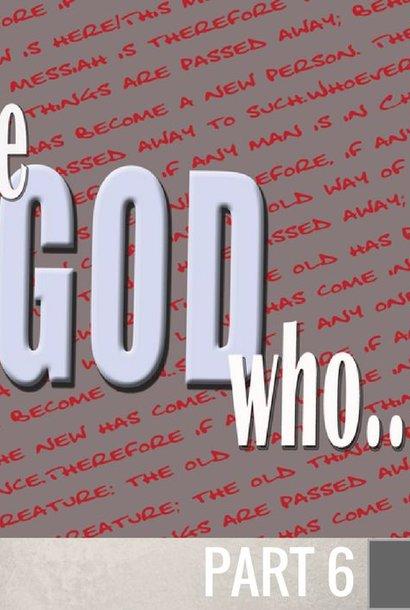 06(F031) - The God Who Responds To Faith CD SUN