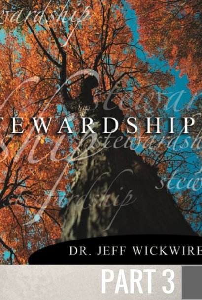 03 - The Blessings Of Stewardship  By Pastor Jeff Wickwire | LT01211
