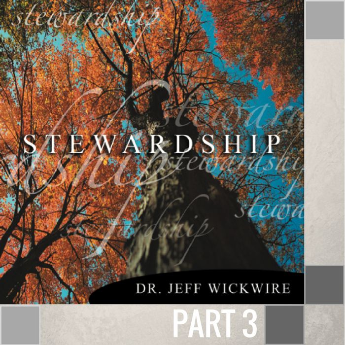 03 - The Blessings Of Stewardship  By Pastor Jeff Wickwire   LT01211-1