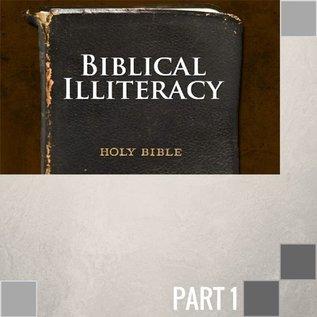 TPC - CD 00(NONE) - Biblical Illiteracy CD WED