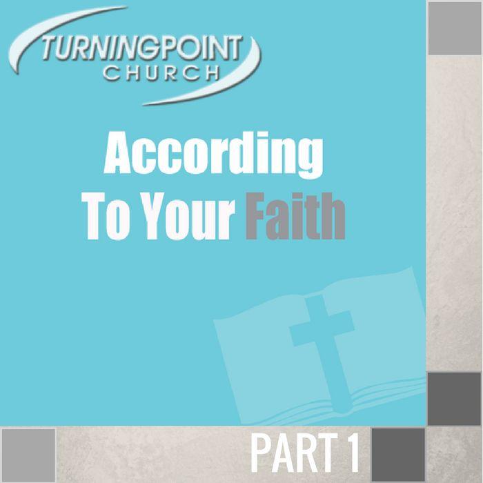 00(NONE) - According To Your Faith CD SUN-1