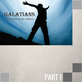 01(A026) - Introduction: Galatians - Stand Fast In Liberty CD WED