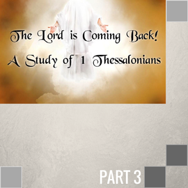 TPC - CD 03(I003) - Paul's Crown Of Rejoicing At Christ's Return CD WED