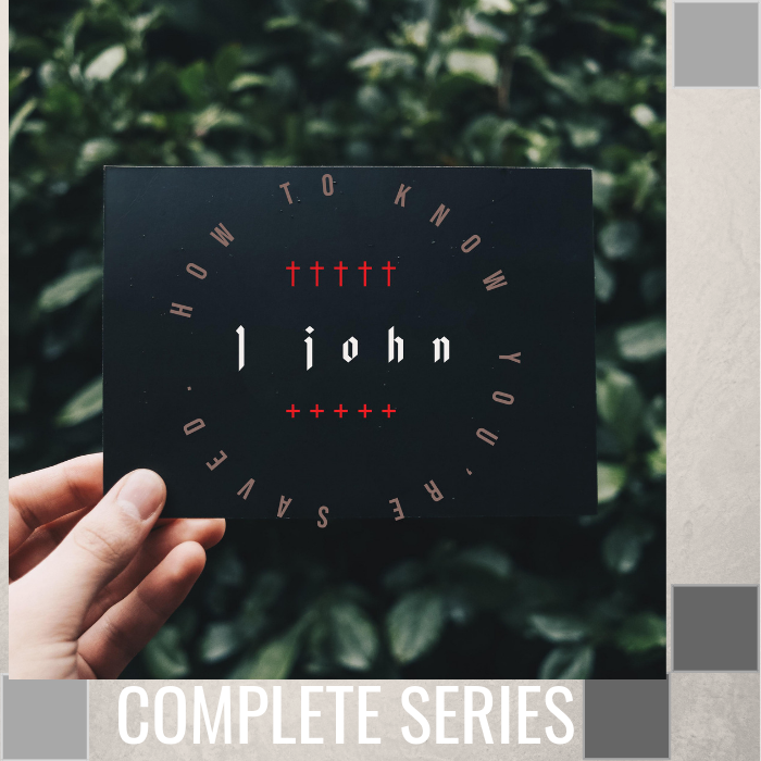 00 - 1 John - How To Know You're Saved By Pastor Jeff Wickwire - Complete Series | LT3468-1