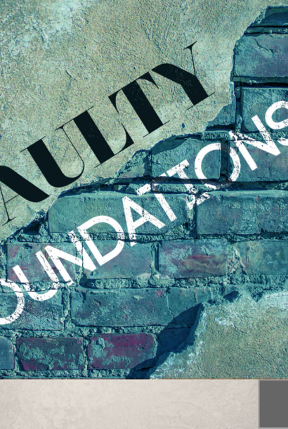 094 - Faulty Foundations By Pastor Jeff Wickwire   LT03551