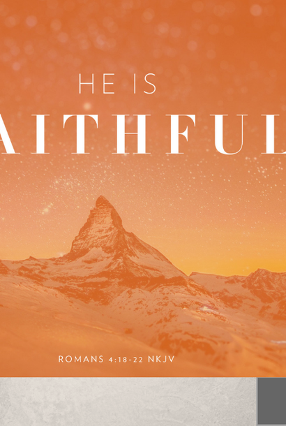 00(M019) - He Is Faithful! CD Sun