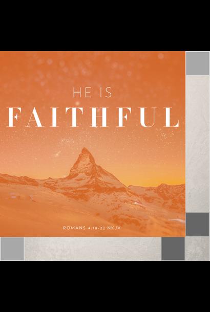 00(M019) - He Is Faithful! CD Sun