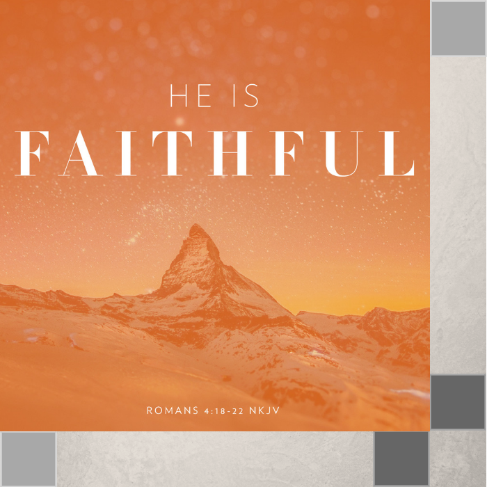 00(M019) - He Is Faithful! CD Sun-1