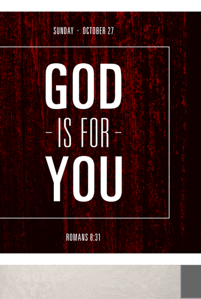 102 - God is For You! By Pastor Jeff Wickwire | LT14370
