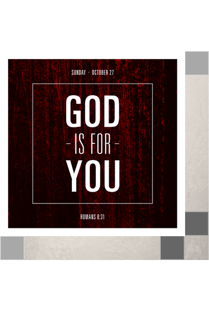 00(M018) - God is For You! CD Sun