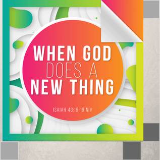 00(M026) - When God Does a New Thing CD Sun