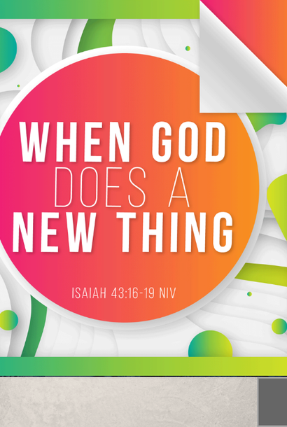 112 - When God Does A New Thing By Pastor Jeff Wickwire | LT38377