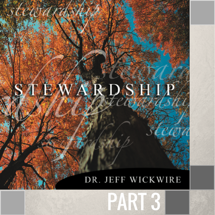 03 - The Blessings Of Stewardship  By Pastor Jeff Wickwire   LT01211-2