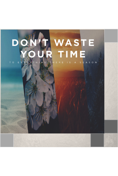 00(M016) - Don't Waste Your Time CD Sun