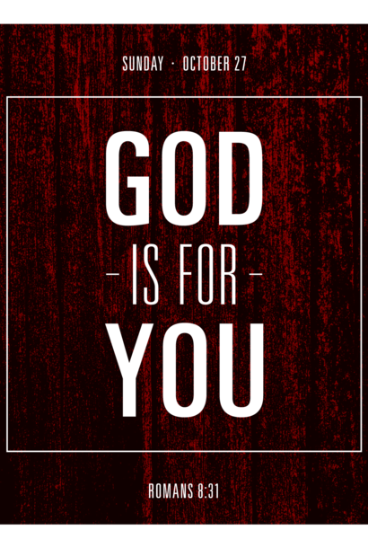 122 - God Is For You! By Pastor Jeff Wickwire | LT38469