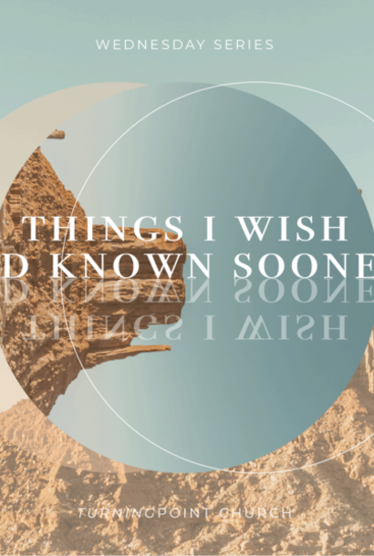01 - Things I Wish I'd Known Sooner -  Part 1 By Pastor Jeff Wickwire | LT38543